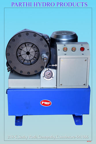 Horizontal Hose Crimping Machine