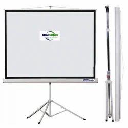 Screen Technics Premium  5H x 7W Tripod Stand Projector Screen I Tripod Projector Screen