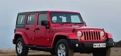 Red Modified Rubicon