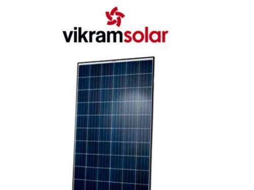 Poly Crystalline Vikram Solar Panel 330w Rs 20 Watt Cohort Overseas Private Limited Id 16639632248