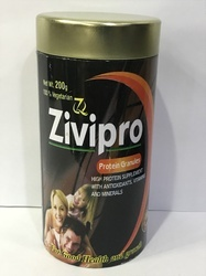 Zivipro Herbal Muscle Mass, Body Building Protein Granules, Packaging Size: 1-2 Kg, Packaging Type: Can