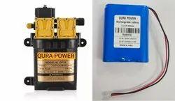 12v Sprayer Pump With Battery