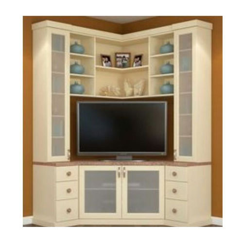 Charmant Wooden Corner TV Cabinet