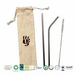 Fair Trade Organic Cotton Cutlery  Bag