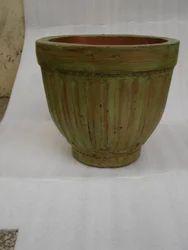 Green Antique Planter Stone