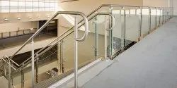 Stainless Steel Airport Railing