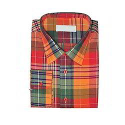 1b83203cca Cotton M Fitters Mens Plaid Shirt, Size: Medium