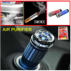Auto Car Freshener Air Purifier Ionizer Ionic Oxygen Bar