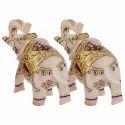 Marble Elephant Decorative Gift