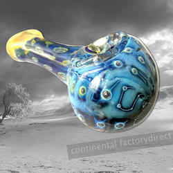 Blue Head Glass Pipe