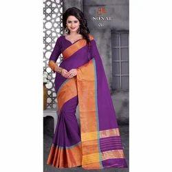 Ladies Fashionable Cotton Saree