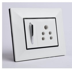 Modular Rectangular Electrical Switch Plate, Operation: ON/OFF