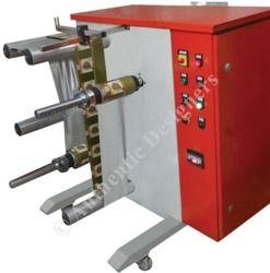 High Speed Side Loading Label Rewinder Machine