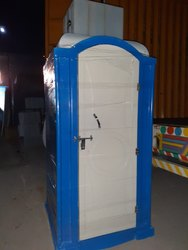FRP Single Die Molded Portable Toilet