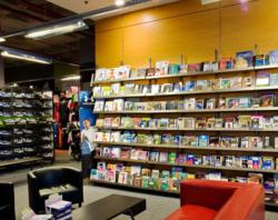 Bookstore Shelves and Racks