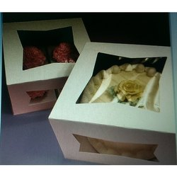 Window Cake Packaging Box