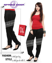Black Patiala Pant