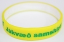 Double Colour Silicone Band