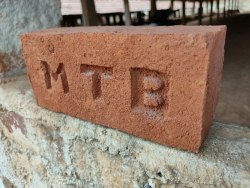 Bricks Rectangular MTB Red Brick, Size: 9 63
