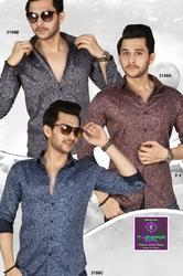 Stylish Mens Printed Shirt