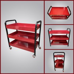 Tool Trolley 3 Layer With Wheels