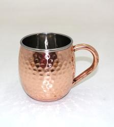Steel & Copper Mug
