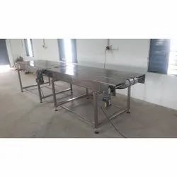 Multi Row Slat Chain Conveyors