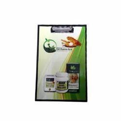 Pharma-Ayur (A4F) Paper Clip Board
