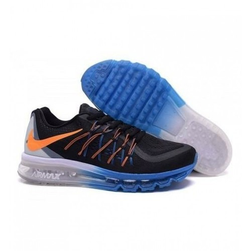 hot sales 77c43 45cb3 Men Running Nike Air Max 2015 Orange Black
