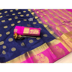 Printed Kanjivaram Art Silk Saree