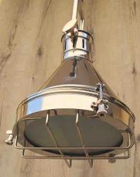 Nautical Searchlight Hanging Lamp