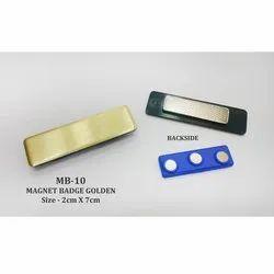 Magnet Name Badges Golden