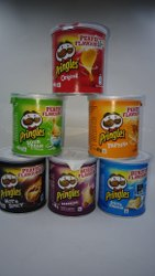 Fried Barbeque Pringles Mini Jar, Box, Packaging Size: Pack Of 12