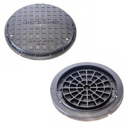 Round Black Plastic Manhole Covers