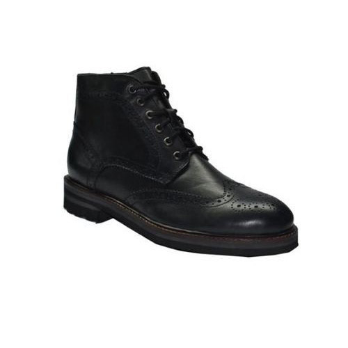 High Ankle Leather Shoes For Mens