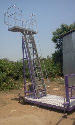 ALUMINIUM OIL AND CEMENT TRUCK LADDER