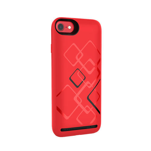 finest selection a3bf1 c5300 Chargeup Battery Charger Case Iphone 7/8 5000 Mah Passionate Red