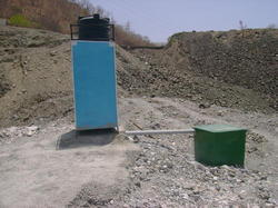 FRP Bio Digester With Toilet Block
