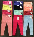 Kids Girls Plain Leggings