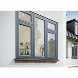 White Wooden Fenesta UPVC Windows