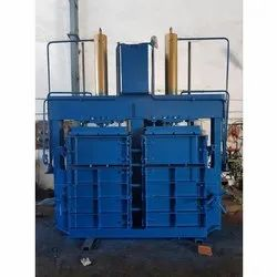 Industrial Double Box Double Cylinder Baling Machine