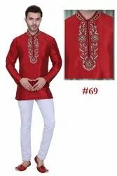 Red Short Kurta