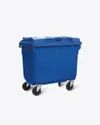 660 Liters Plastic Dustbin