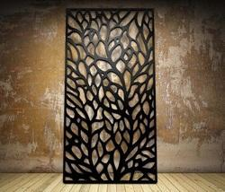 Autumn Botanical Laser Cut Metal Screens and Sheet Boards