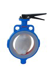FEP/PFA Lined Butterfly Valve
