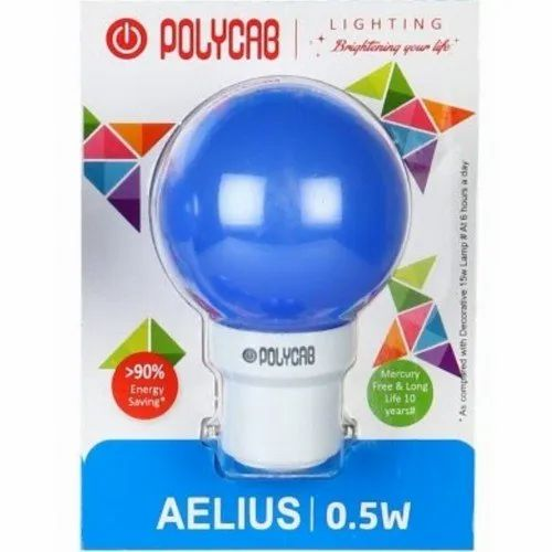 Electric Ceramic Polycab LED Bulb