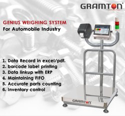 Parts Counting Label Printing Scale
