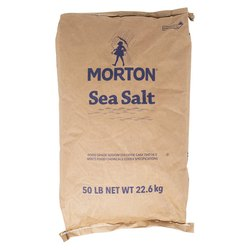 Morton Sea Salt Paper Sack