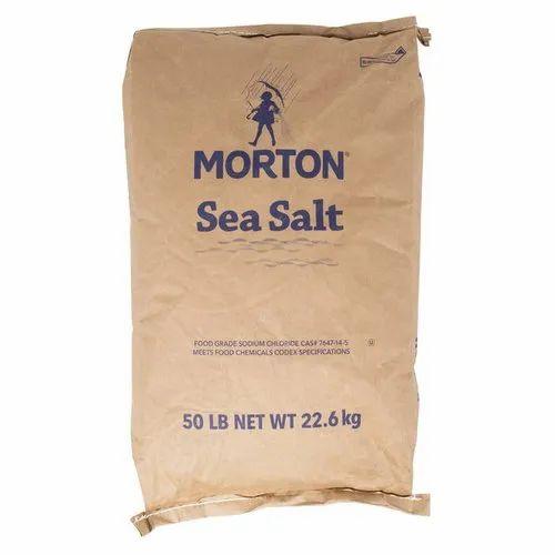 Morton Sea Salt Paper Sack