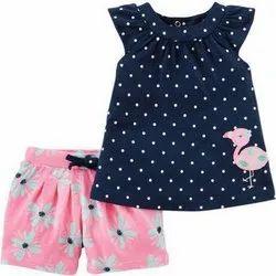 GOTS Yarn Dyed Kids Shorts Set